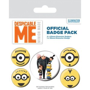 Despicable Me Minions - Badge Pack