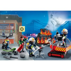 Playmobil Advent Calendar Fire Rescue Operation (5495)