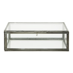Nkuku Oni Glass Box - Small - Clear