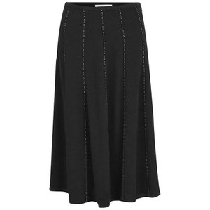 MICHAEL MICHAEL KORS Women's Studded Flare Skirt - Black