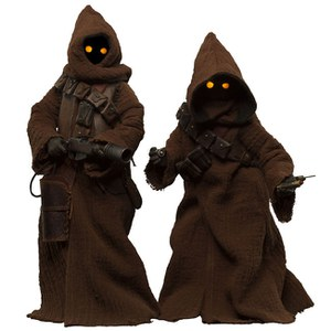 Sideshow Collectibles Star Wars Jawa 1:6 Scale Figure Set