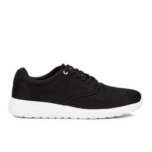 Crosshatch Men's Buckskin Trainers - Black/White