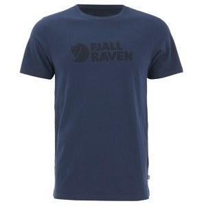 Fjallraven Men's Logo T-Shirt - Blueberry