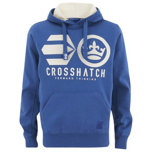 Crosshatch Men's Nucleus Hoody - Nautical Blue