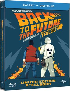 Züruck in die Zukunft - Zavvi exklusive Limited Edition Steelbook Boxset (limitert auf 1000 Kopien) Blu-ray
