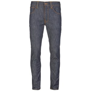 Nudie Jeans Men's Lean Dean Straight/Slim Fit Tapered Leg Jeans - Dry Iron