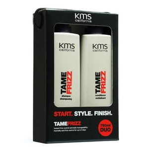 KMS California Tamefrizz Shampoo and Conditioner Duo (750ml)