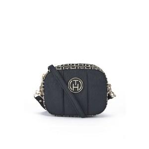 Tommy Hilfiger Women's Louise Mini Crossbody Bag - Black/Khaki