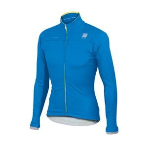 Sportful BodyFit Pro Windstopper Jacket - Electric Blue/Yellow Fluo