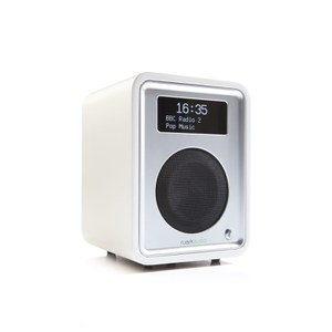 Ruark Audio R1 MKIII Deluxe Table Top Bluetooth Radio - Soft White