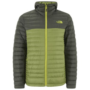 The North Face Men's Tonnerro Down Filled Hooded Jacket - Grip Green