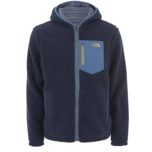 The North Face Men's Brantley Reversible Fleece Hoody - Cosmic Blue