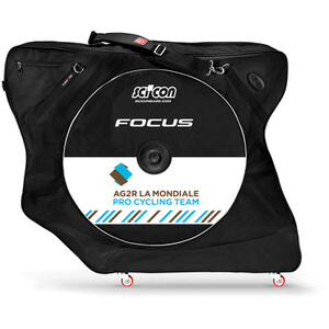 Scicon Aerocomfort 2.0 TSA Bike Bag - Black - Team AG2R Edition