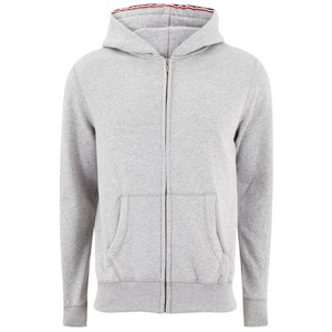 Tommy Hilfiger Men's Sinne Zip Through Cotton Hoody - Grey