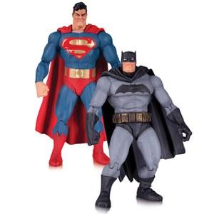The Dark Knight Returns Series Actionfiguren Doppelpack Superman & Batman 30th Anniversary