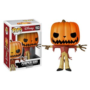 Nightmare Before Christmas Pumpkin King Pop! Vinyl Figure