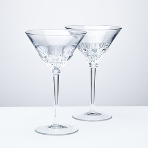 Anton Studio Designs Set of Two Solar Martini Cocktail Glasses