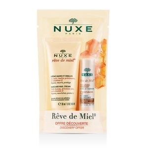 NUXE Rêve de Miel Hand Cream and Lip Moisturising Stick (30ml) (Worth £12.40)