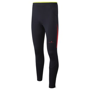 RonHill Men's Vizion Contour Tight - Black/Red/Yellow