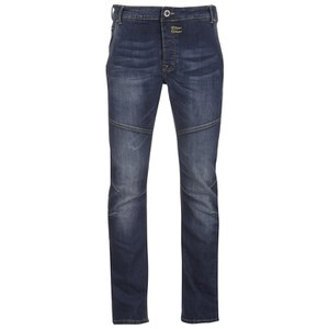 Firetrap Men's Fordwych Straight Fit Jeans - Mid Wash