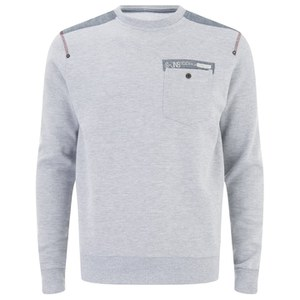 Smith & Jones Men's Smithlands Sweatshirt - Light Grey