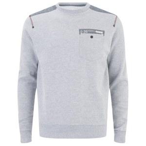 Smith & Jones Men's Smithlands Sweatshirt - Light Grey