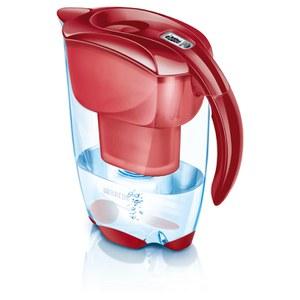 BRITA Elemaris Meter Cool Water Filter Jug - Cool Red (2.4L)