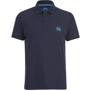 Henleys Men's Loaf Logo Collar Polo Shirt - Optic White