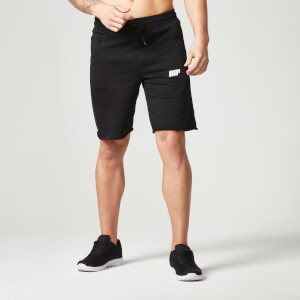 Myprotein Men's Cut Off Shorts with Zip Pockets - Black