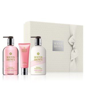 Molton Brown Delicious Rhubarb and Rose Hand Gift Set (Worth £46.00)