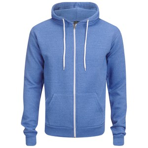 Soul Star Men's Berkley Zip Through Hoody - Turquoise