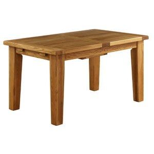 Vancouver Oak NB005 Extension Dining Table - 1800mm