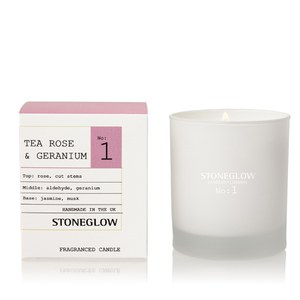 Stoneglow Modern Apothecary No. 1 Tumbler - Tea Rose and Geranium