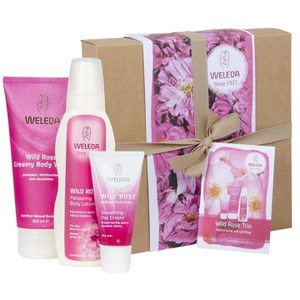 Weleda Wild Rose Trio Gift Box