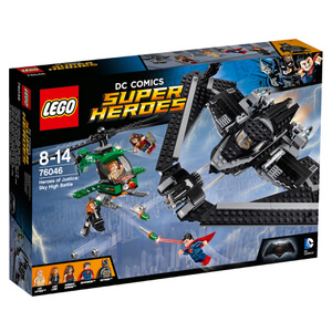 LEGO DC Comics Batman v Superman Helden der Gerechtigkeit: Duell in der Luft (76046)