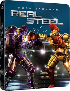 Real Steel - Zavvi exklusives (UK Edition) Steelbook Edition