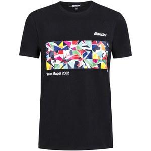 Santini Art Mapei Team T-Shirt - Black