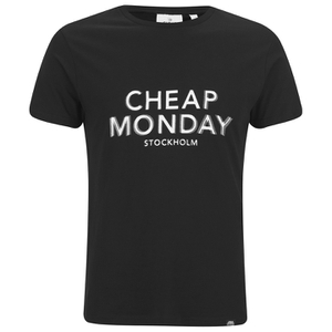 Cheap Monday Men's Standard T-Shirt - Punk Black