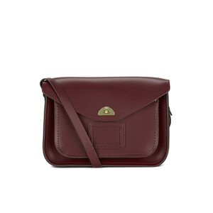 The Cambridge Satchel Company Women's Twist Lock Satchel - Oxblood
