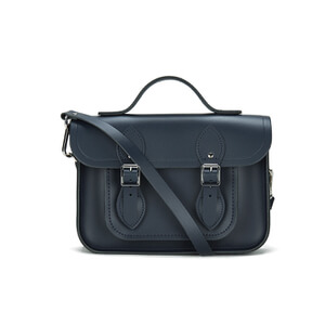 The Cambridge Satchel Company Women's 11 Inch Magnetic Batchel - Navy