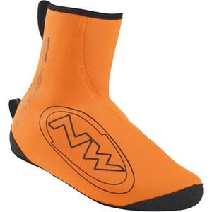 Northwave Sonic Shoe Cover - Orange/Black