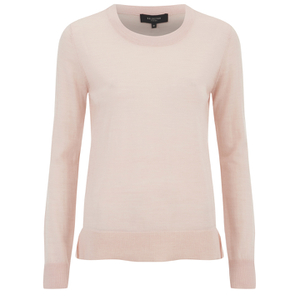 Selected Femme Women's Mero Knitted O-Neck Pullover - Cameo Rose