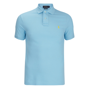 Polo Ralph Lauren Men's Short Sleeve Custom Fit Polo Shirt - Hammond Blue