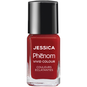 Jessica Nails Cosmetics Phenom Nail Varnish - Jessica Red (15ml)