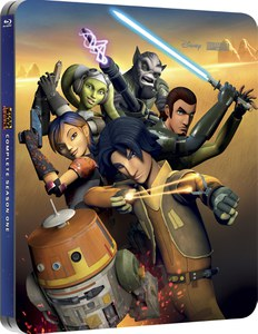 Star Wars. Rebels - Season 1 (Edición de Reino Unido) - Steelbook Exclusivo de Edición Limitada