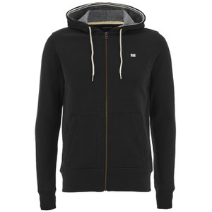 Weekend Offender Men's Biscay Zip Through Hoody - Black