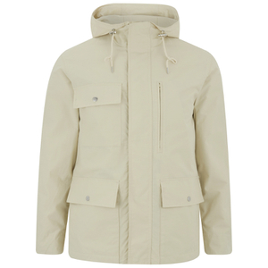GANT Rugger Men's Fjord Parka Jacket - Off White