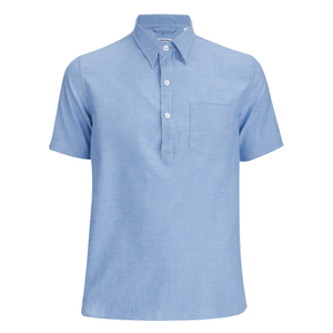 Arpenteur Men's Ete Polo Shirt - Blue Pique