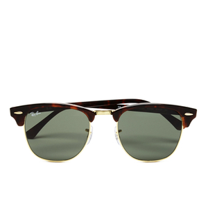 Ray-Ban Clubmaster Sunglasses - Mock Tortoise/Arista