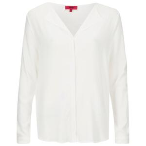 HUGO Women's Elley Blouse - White